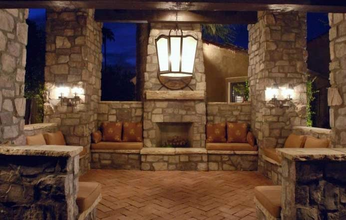 Florida custom home builders orlando fl for Brick garden room designs